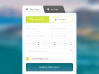 Flight Search Form