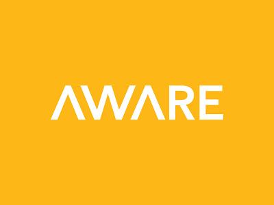 Aware Logo university dominic simmons aware vector branding logo design logo design illustrator graphic design adobe