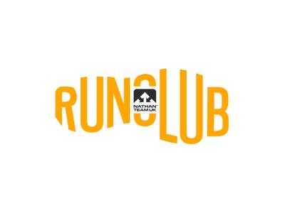 Nathan Run Club Logo logo design graphic design shoe illustrator adobe illustration running run club logo