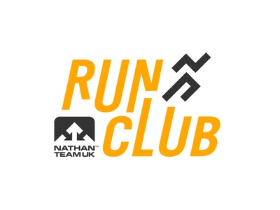 Nathan Run Club Logo creative cloud illustrator adobe graphic design logo design logo running run club