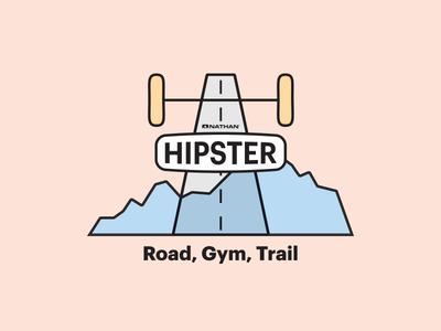 Nathan Hipster Logo design logo design logo illustrator illustration graphic design creative cloud adobe