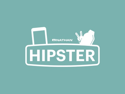 Nathan Hipster Logo logo design logo illustrator illustration graphic design design creative cloud adobe