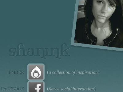 shanink Redesign personal redesign
