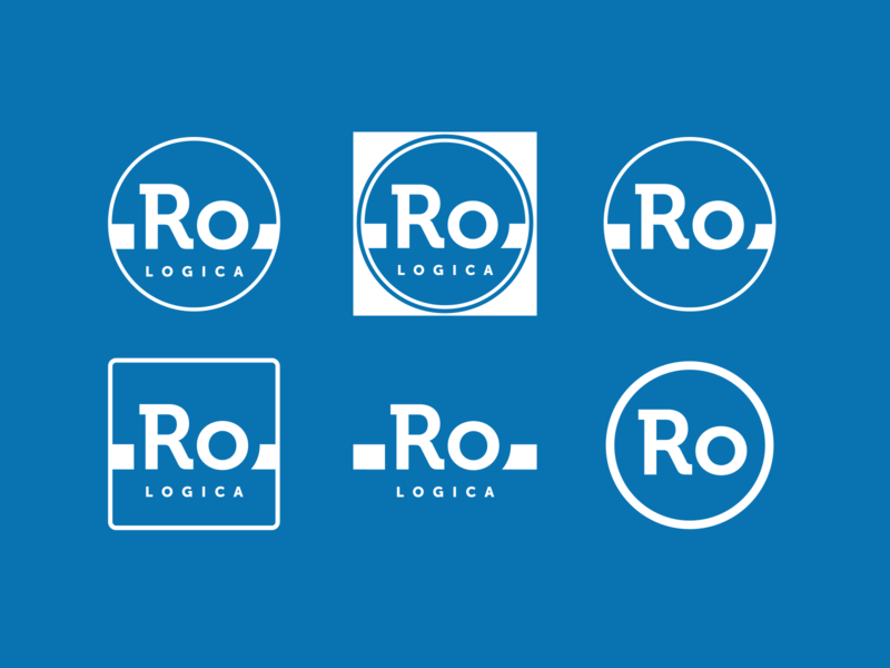 Logo Rologica logo design illustration