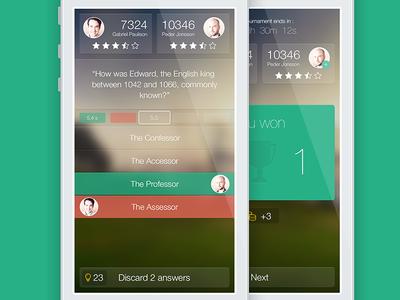 Quizapp - iOS 7 attempt