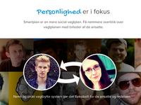 Smartplan website, personality