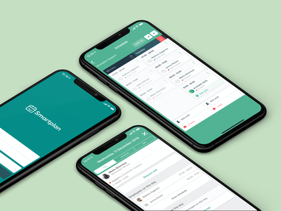 Smartplan Rebranding smartplan iphonex logo design iphone app iphone logo mark
