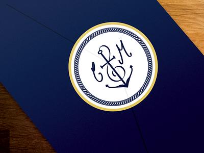Monogram for wedding monogram wedding stamp sticker invitation