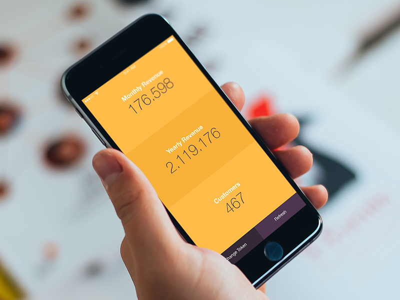 Chartmogul Revenue orange numbers data stats revenue chartmogul