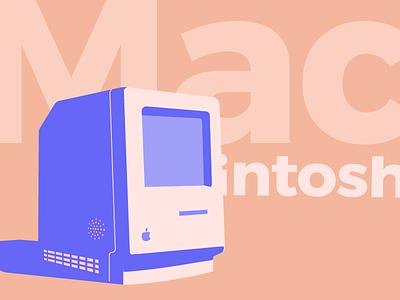 Summer Macintosh colors stuff home classic 2 classic ii classic apple computer flat macintosh mac design