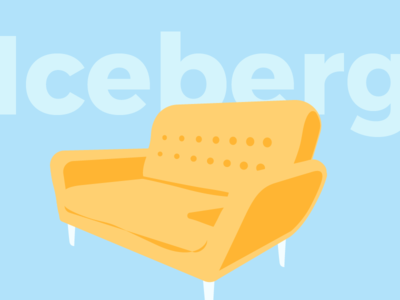 Summer Iceberg Sofa