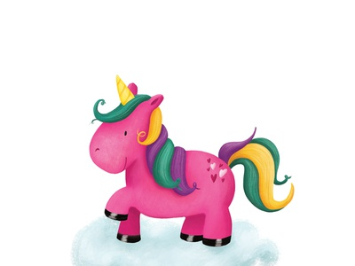 Magical Pink Unicorn
