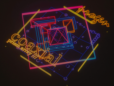 Coaxial Prism /// interface cyber scifi cg hologram 3d ux ui houdini
