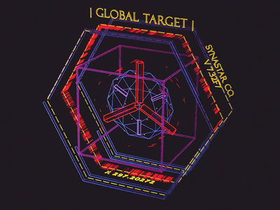 Synastar IP Tracer /// interface cyber scifi cg hologram 3d ux ui houdini