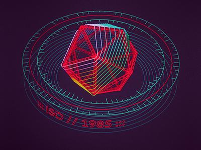 Iso 1985 /// 3d vr hologram scifi interface fui ui houdini