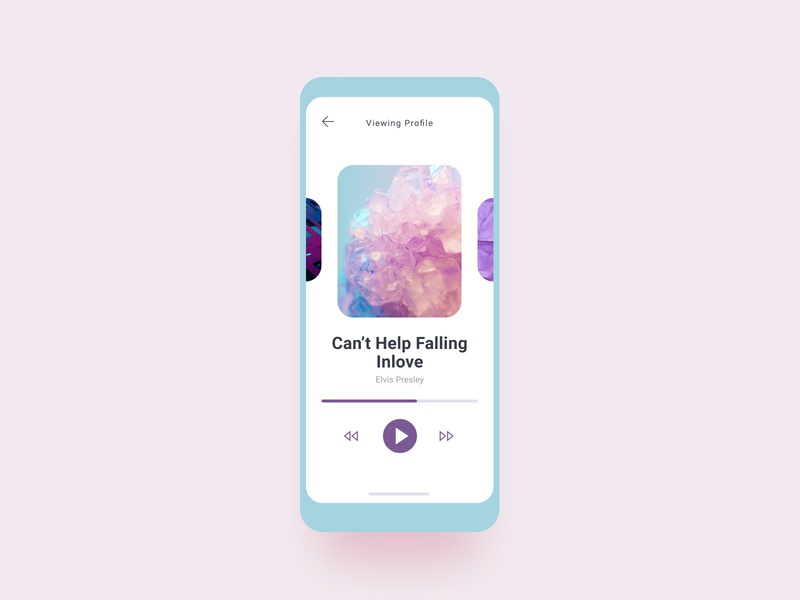 Music players tracks song cover album audioplayer player music appdesign mobile iphone android ios app design ui ux