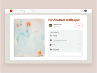 Fix Pinterest web app design ui ux