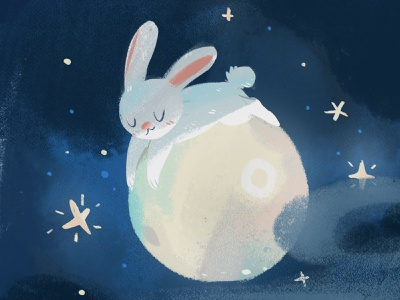晚安,宝宝们~ illustration
