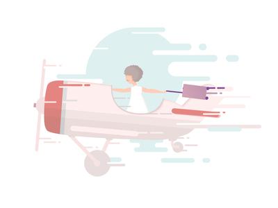 Airfrov Trip Illustration