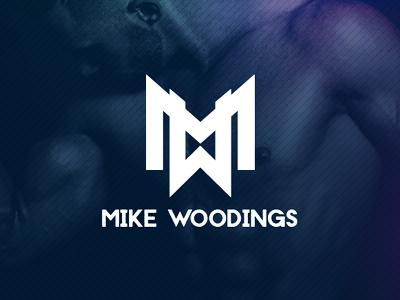Personal Trainer Logo MW gym fitness logo