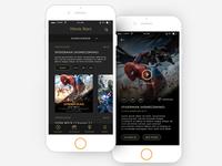 Exploration Movie Apps Concept