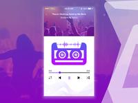 Music Player #dailyui #009