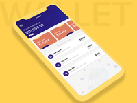 Wallet app Ui  ios | Android