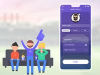 Sports App UI