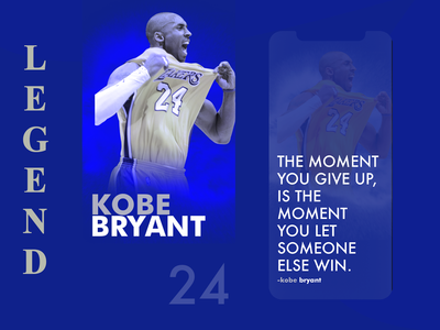 Kobe Bryant The Legend
