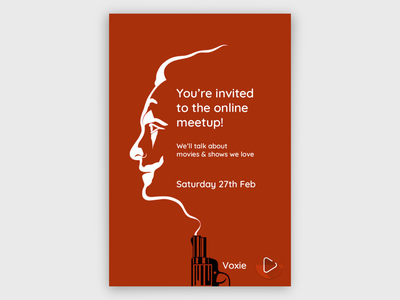Movie Meetup Poster the joker movie poster movies poster poster design branding