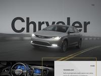 Chrysler 200 Landing Page