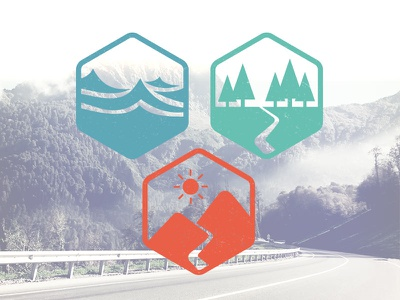 Vacancy Icons free freebies vacancy icons moutains sea forest illustrator icon