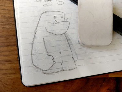 Monster Sketch draw search pen paper sketch monster