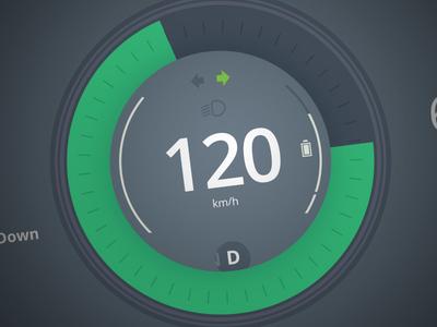 Dashboard car concept data design control center interface dashboard ui automobile automotive car