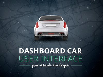 Title Car UI map typo font title ui interface design data dashboard car automotive automobile
