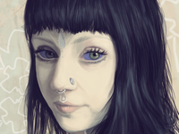 Grace Neutral grace neutral body mod portrait painting photoshop digital art