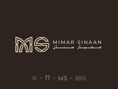 Mimar Sinaan - Logo Design Version 1