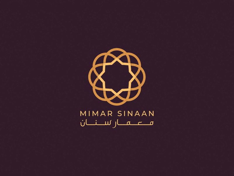 Mimar Sinaan - Logo Design Version 3 logo mark brand identity pattern geometric logo architecture islamic