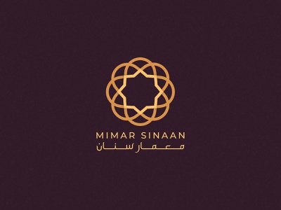 Mimar Sinaan - Logo Design Version 3 logo mark brand identity pattern geometric logo architecture islamic