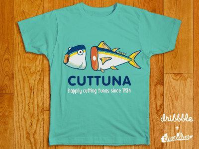Cuttuna rebound playoff tuna cut company tshirt brand