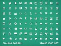 Iroiro icon set styled 16x16