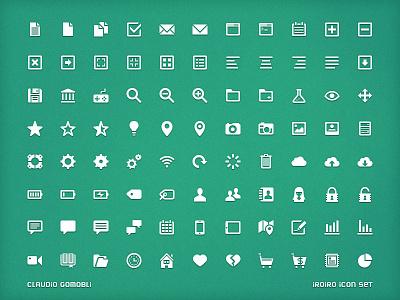 Iroiro set (ui icons) iroiro ui icons icon 16px 32px vector shape psd csh creative market