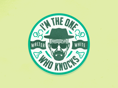 Walter White chemic heisenberg walter white breaking bad illustration