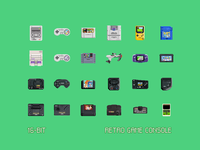 16-Bit Retro Game Console (freebie)