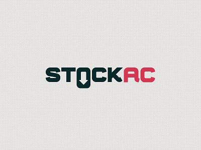 """""""Stock AC"""" Logo download logo logo mark logotype typeface. 0 font free zero brand branding"""