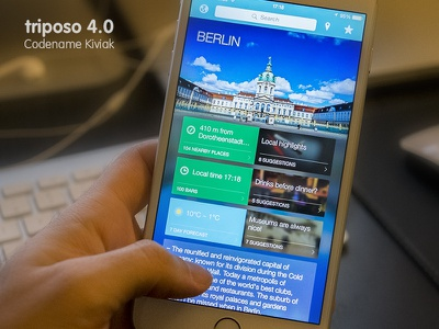 Triposo 4.0 ~ Codename Kiviak triposo travel trip app apple application ios ios8 iphone 6 plus iphone ipad kiviak