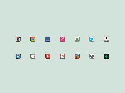Free 16px icons