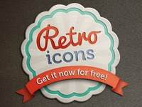 Retro icons [freebie]