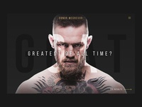 Conor McGregor - GOAT
