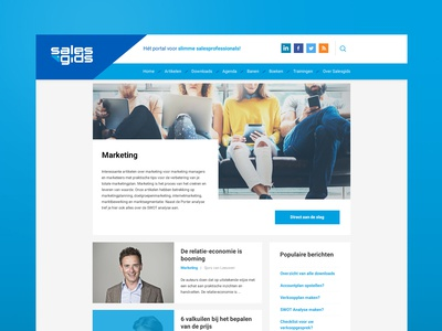 Webdesign - Salesgids